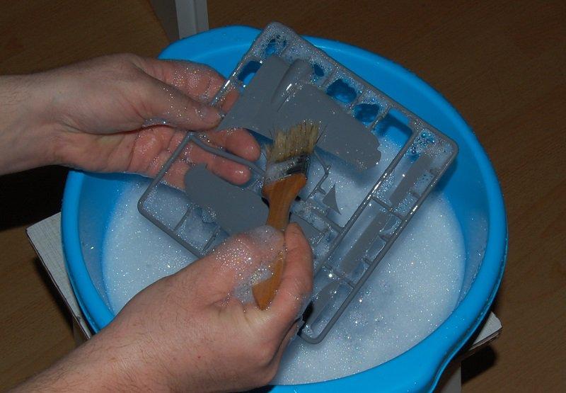 Łoś - mycie wyprasek - 3.JPG
