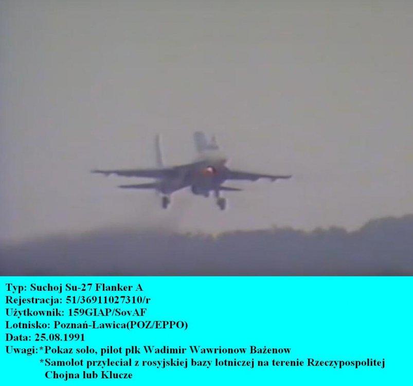 SUCHOJ Su-27A.Poznań- Ławica.1991.JPG