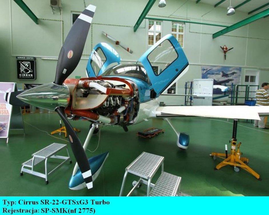 Cirrus SR-22 -GTSx G3 Turbo.SP-SMK.Bydgoszcz-Szwederowo.2011(01).JPG