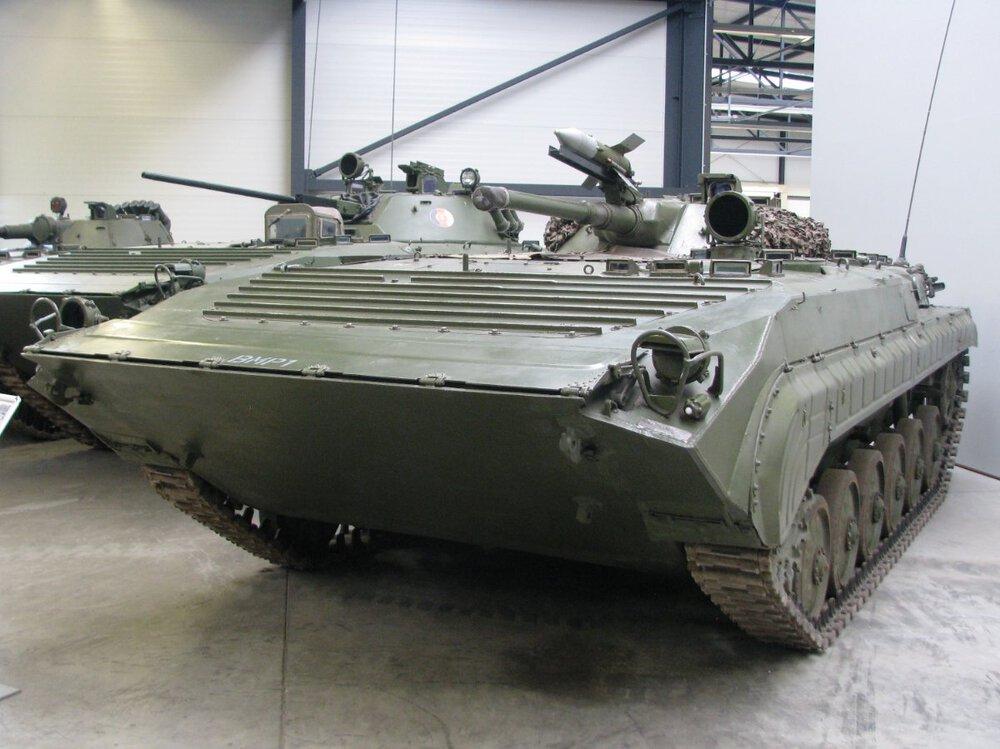 Bojowy wóz piechoty BMP-1 - DPM 001.JPG