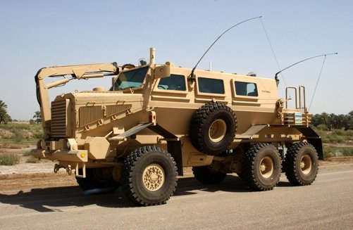 Gen Dynamic - Force Protection Buffalo_mine-protected_vehicle.jpg