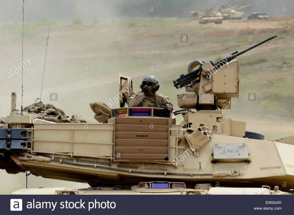 3rd Infantry Division with their M1A2 Abrams battle tank during exercise Operation Atlantic Resolve June 16, 2015 in Tapa, Estonia..jpg