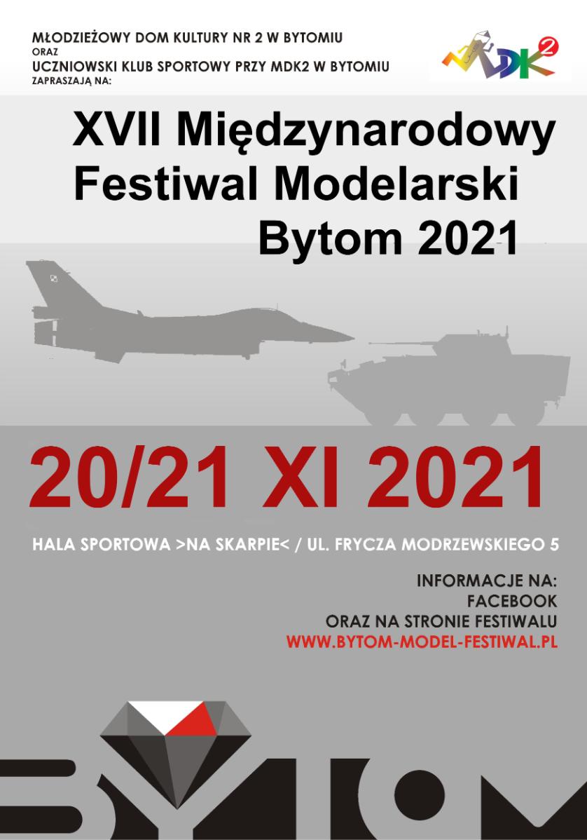 XVII Międzynarodowy Festiwal Modelarski Bytom 2021